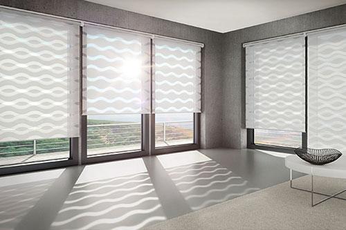 raumdesign vorhang modern