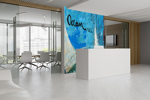 wallpainting ocean
